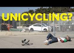 Enlace a ¿Se puede aprender a montar en monociclo en tan solo un día? [Inglés]