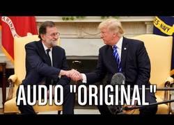 Enlace a Recepción en la Casa Blanca a Rajoy (DOBLAJE)