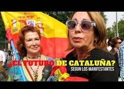 Enlace a El futuro y la viabilidad de Cataluña según los madrileños