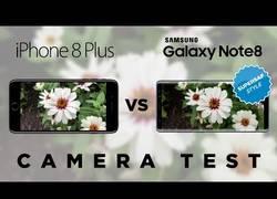 Enlace a Así de diferentes son las cámaras del iPhone 8 Plus y del Samsung Galaxy Note 8