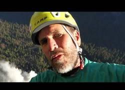 Enlace a El tremendo desprendimiento en Yosemite en el que se vio implicado este escalador