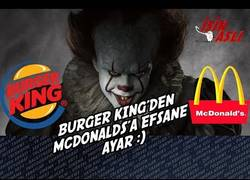 Enlace a Burger King trolea a McDonalds con el estreno de 'IT' en Alemania