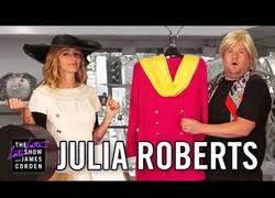 Enlace a Julia Roberts hace un repaso de su carrera cinematográfica de todas sus pelis