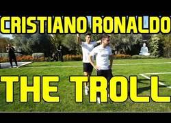 Enlace a ¿Trolleo de Cristiano Ronaldo a DjMaRiiO?