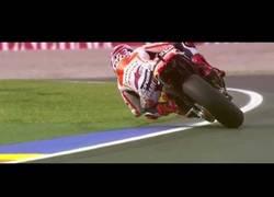 Enlace a Hipnóticos derrapes de Moto GP en slow motion