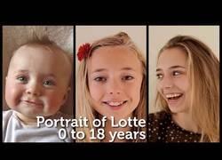 Enlace a Padre graba a su hija cada día durante 18 años