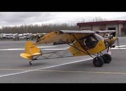 Enlace a Competición de aterrizar en el menor espacio posible en Alaska