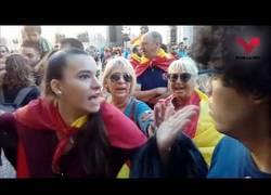 Enlace a Grita 'Viva Franco' en plena calle y cuando ve que le graban rectifica