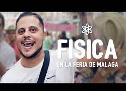 Enlace a Hablando de física en la Feria de Málaga