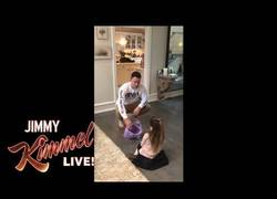 Enlace a Channing Tatum le dice a su hija que se ha comido todas las chuches de Halloween y así reacciona ella