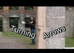 Enlace a Aprendiendo a disparar flechas CON EFECTO