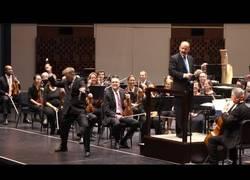 Enlace a Y de repente en esta orquesta salió el loco del triángulo con su show