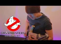 Enlace a Ray Parker Jr. se saca este brutal tema con su guitarra de los Ghostbusters