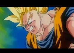 Enlace a La transformación de Son Goku en Super Saiyan 3, remasterizada y en HD