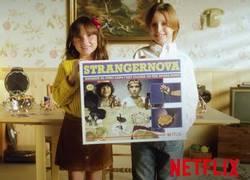 Enlace a Así promociona en Netflix España a Stranger Things como si fuese un comercial de los 80
