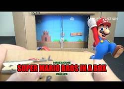 Enlace a Cómo crear tu propio juego de Mario Bross de baja tecnología con cartón