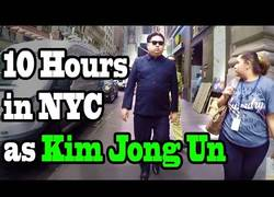 Enlace a Kim Jong Un sorprende y visita las calles de Nueva York