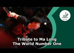 Enlace a Ma Long y sus habilidades supra-humanas en el ping pong  a veces nos hace olvidar que es un simple mortal