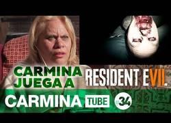 Enlace a Carmina se hace youtuber y juega al Resident Evil VII