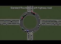 Enlace a Simulación por ordenador: optimización de tráfico con combinaciones de carreteras, carriles, semáforos, rotondas...