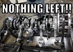 Enlace a La tremenda explosión de este motor diesel de 2000cv