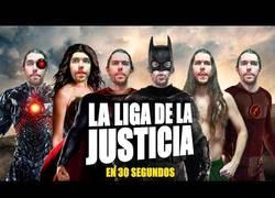 Enlace a Zorman nos cuenta en 30 segundos la historia de 'La Liga de la Justicia'