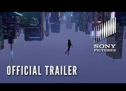 Enlace a Trailer oficial de The Spiderman: Into the Spider-Verse