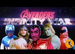 Enlace a El tráiler a lo retro de Avengers: Infinity War
