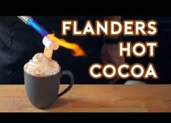 Enlace a Así se cocina paso a paso el delicioso dulce que prepara Flanders en un capítulo de Los Simpson