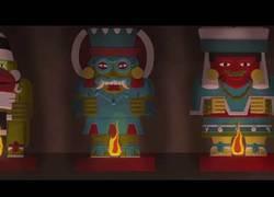 Enlace a La creación del Quinto Sol, mito prehispánico de América animado