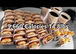 Enlace a ¿Es posible zamparse 9.660 calorías de una tacada? Este tío lo hace posible