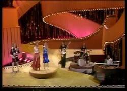 Enlace a Abba en 1974 con Waterloo,ganador en ese año y uno de los mejores de la historia del festival