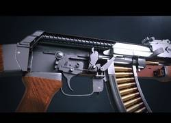 Enlace a Crea en 3D el funcionamiento de una AK-47 muy bien explicado