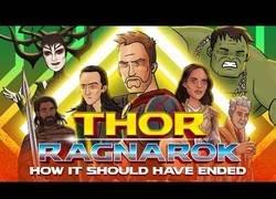 Enlace a Esta es la forma definitiva de como debería terminar Thor: Ragnarok