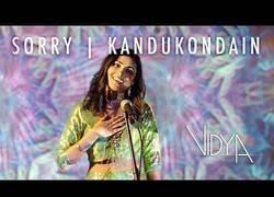 Enlace a Vidya Vox, esta chica si que sabe como hacer covers de canciones