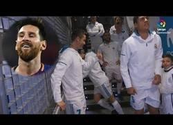 Enlace a Cristiano Ronaldo llama 'malo' a Messi en el túnel de vestuarios del Real Madrid