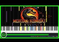 Enlace a Esta increible y melancólica melodía de Mortal Kombat tocada con el piano