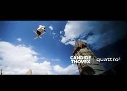 Enlace a Candide Thovex es el hombre capaz de esquiar sin nieve
