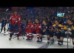 Enlace a Logran el disparo más potente nunca visto en la NHL con 101.3 millas por hora