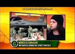 Enlace a Marcelo Carvalho, el imitador que clava los sonidos del Street Fighter