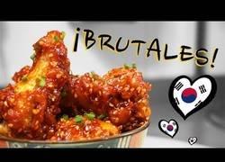 Enlace a Así se cocinan unas alitas de pollo al estilo coreano