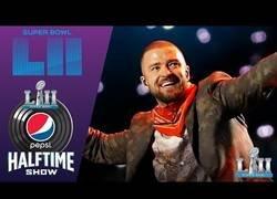 Enlace a El increíble show que hizo Justin Timberlake en el descanso de la Superbowl