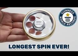Enlace a Más de 25 minutos es el récord de un Spinner girando sin parar