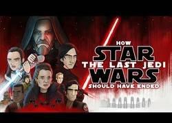 Enlace a Cómo debió terminar Star Wars: Los Últimos Jedi