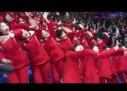 Enlace a La increíble sincronización del público norcoreanas en los Juegos de Invierno