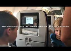 Enlace a Se subió al avión a un viaje de 8 horas y no sabía el infierno que viviría dentro con un niño