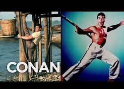 Enlace a ¿Se hace Van Damme las mejores fotos para publicidad de la historia?