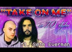 Enlace a Tocando 'Take on me' en 20 estilos diferentes