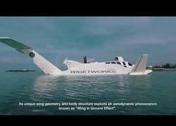 Enlace a Conoce el Airfish-8, el híbrido de barco y avión con la última tecnología