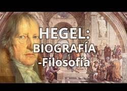Enlace a Hegel,filósofo alemán,que fue una de las figuras mas importantes de la filosofia de la historia
